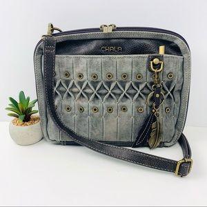 Chala Origami Xbody Crossbody Bag Metal Keychain